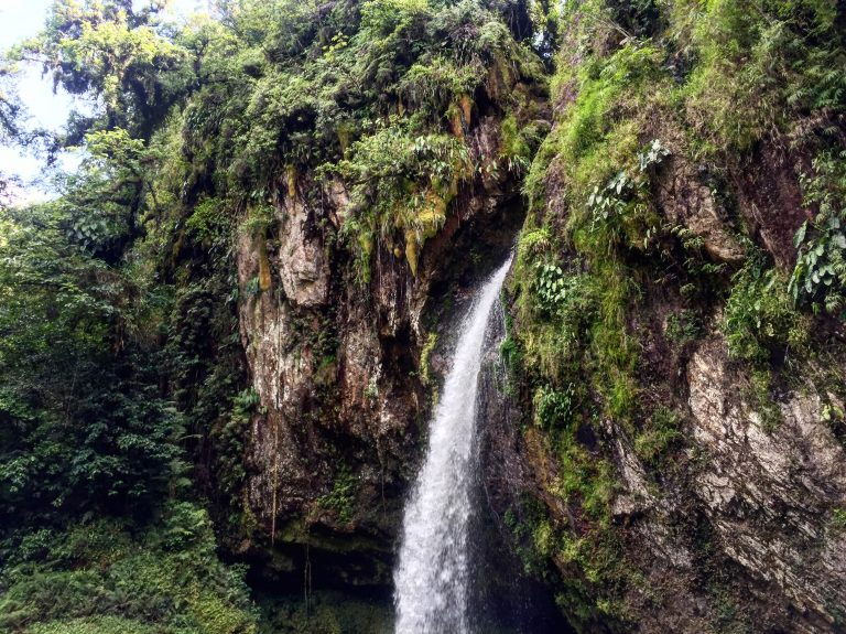 Eva's photo of a waterfall in Cuetzala