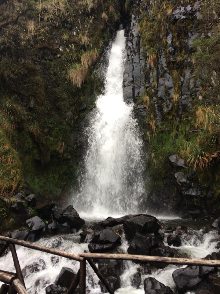Jenna's photo of Papallacta waterfall