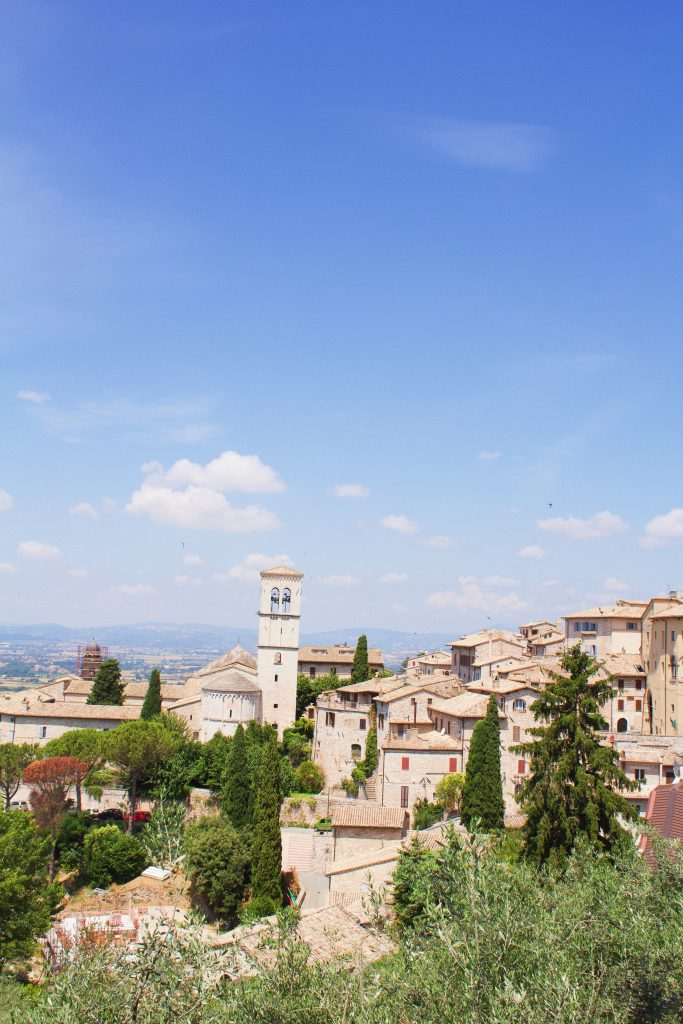 Josephine's picture of Assisi