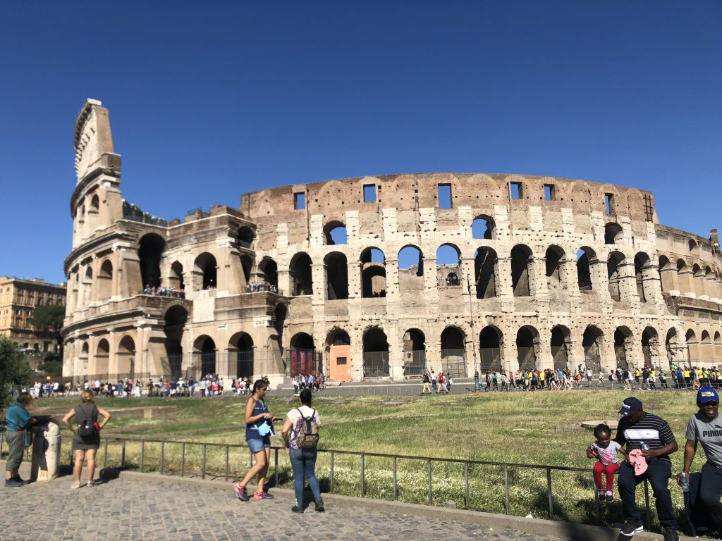 Kate's picture of the Colosseum