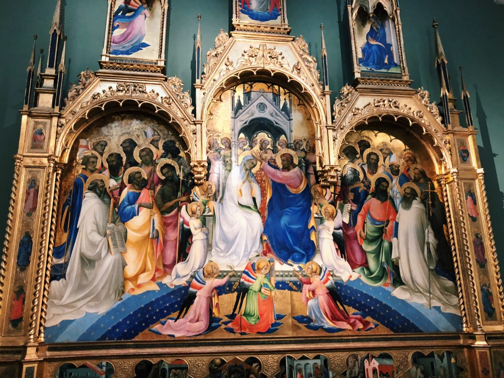 Sally Jane's Picture of The Coronation of the Virgin