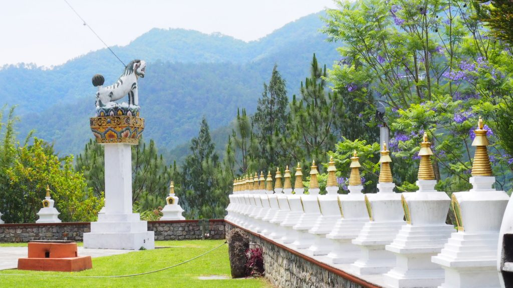 Anne's picture of the artwork at Chorten